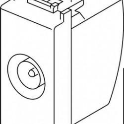 Vtičnica Modul antenska 1M 10dB 17660 prehodna STB KM12SB