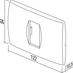 Okvir modul 2/3M PW 24379