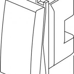 Stikalo Modul enopolno IW 15417 SM10IW