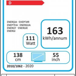 TV LCD H55B7500 HISENSE