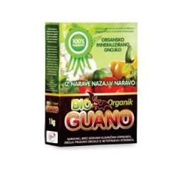 Bioguano organik v prahu 1kg