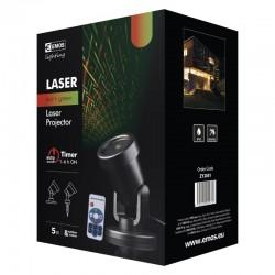 Laserski projektor - mreža, zelena/rdeča timer