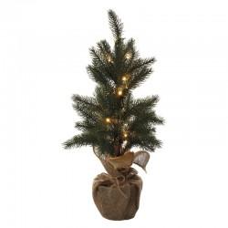 Novoletne lučke - Led dekoracija, božično drevo 52cm