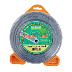 Nitka za kosilnico 2,7x65m okrogla magic line
