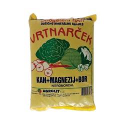 Gnojilo vrtnarček KAN+MG+B 3kg Agrolit