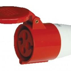 Vtičnica motorska 16A 4POL